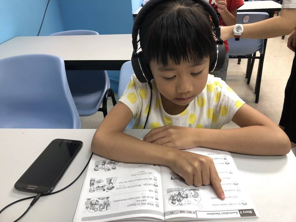 淘大「多元智能教育展」現場有即時學力診斷測驗,評估小朋友的學習能力及水平,並將有老師講解詳細學習方法及教材應用。