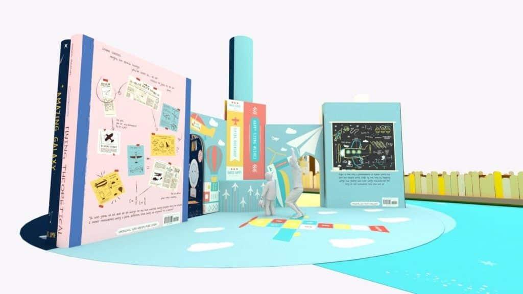 太古城中心:小書蟲·大世界-大家來到「絢子書藝社」,只需畫出自畫像及掃描圖象,再輸入個人電郵,便獲取只屬於一家人的電子故事書。