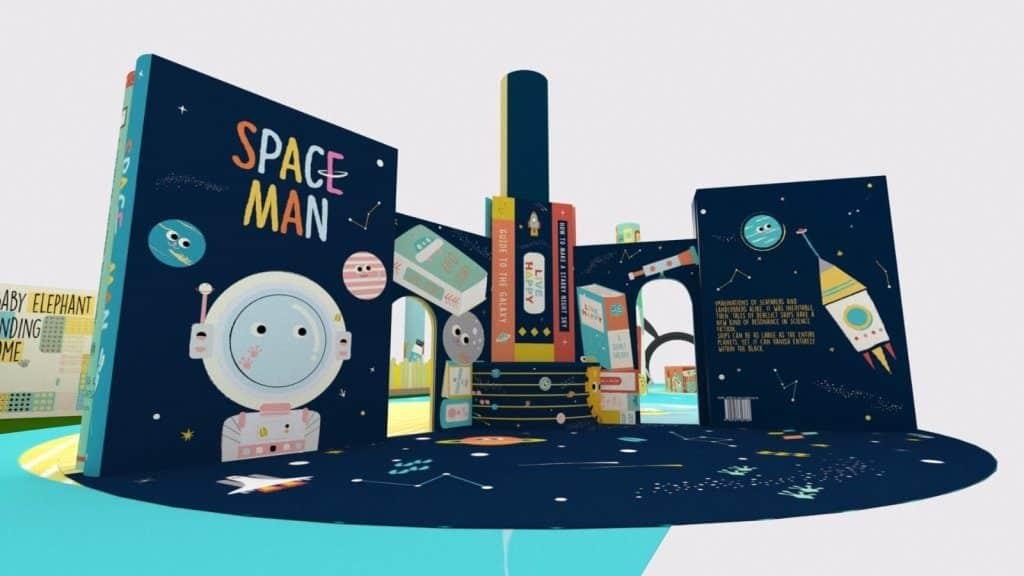 太古城中心「小書蟲·大世界」分設 4 大互動玩樂區,可讓孩子寓閱讀於玩樂。