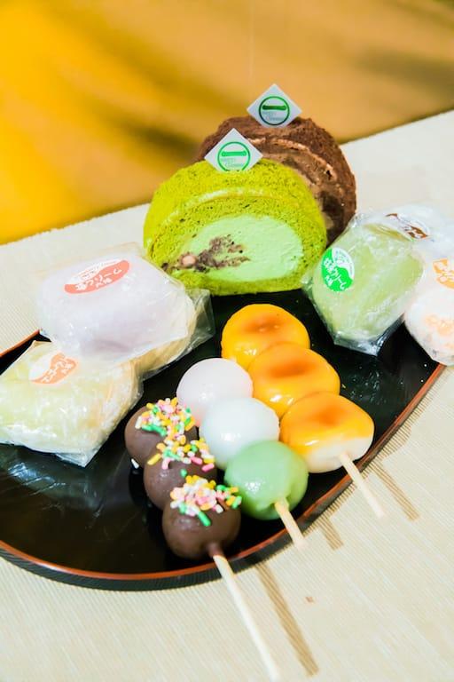 D‧PARK:生活百貨館-茶匠清水一芳園的多款日式甜品。