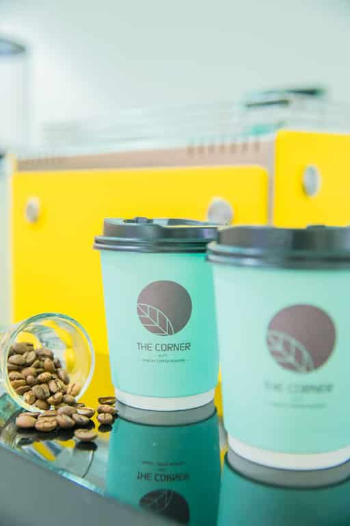 D‧PARK:生活百貨館-THE CORNER with Punchy Coffee Roaster 本地自家新鮮烘焙的咖啡。