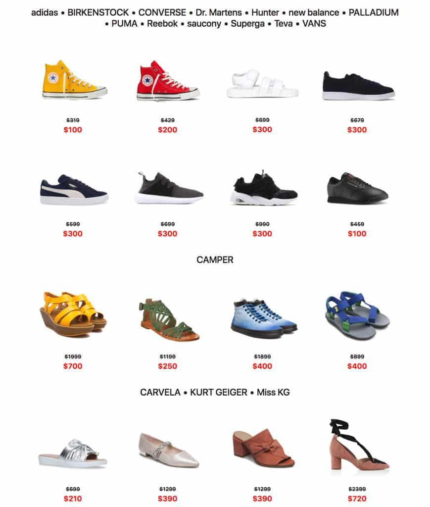D2 Place:i.t 開倉 Shoes & Bags Warehouse Sale 超過 20 個品牌的鞋袋貨品 1 折起發售。