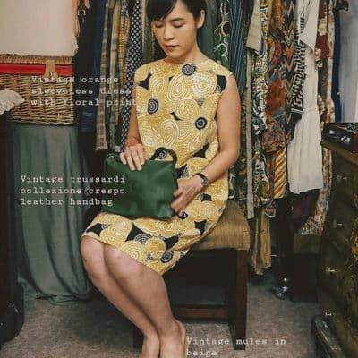 「店小黃 dimsiuwong」喜愛收集二手衣物。