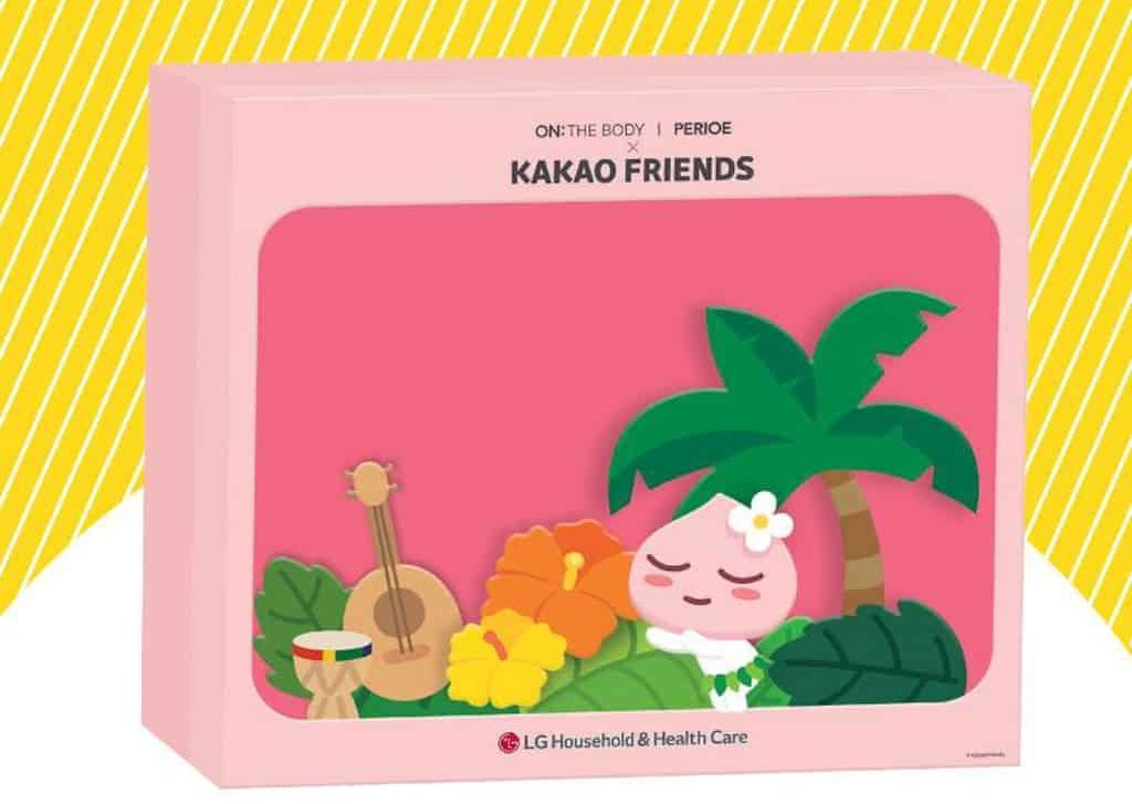 Fashion Walk:Kakao Friends 航海主題限定店 Apeach 版 3D 造型特別版禮盒。