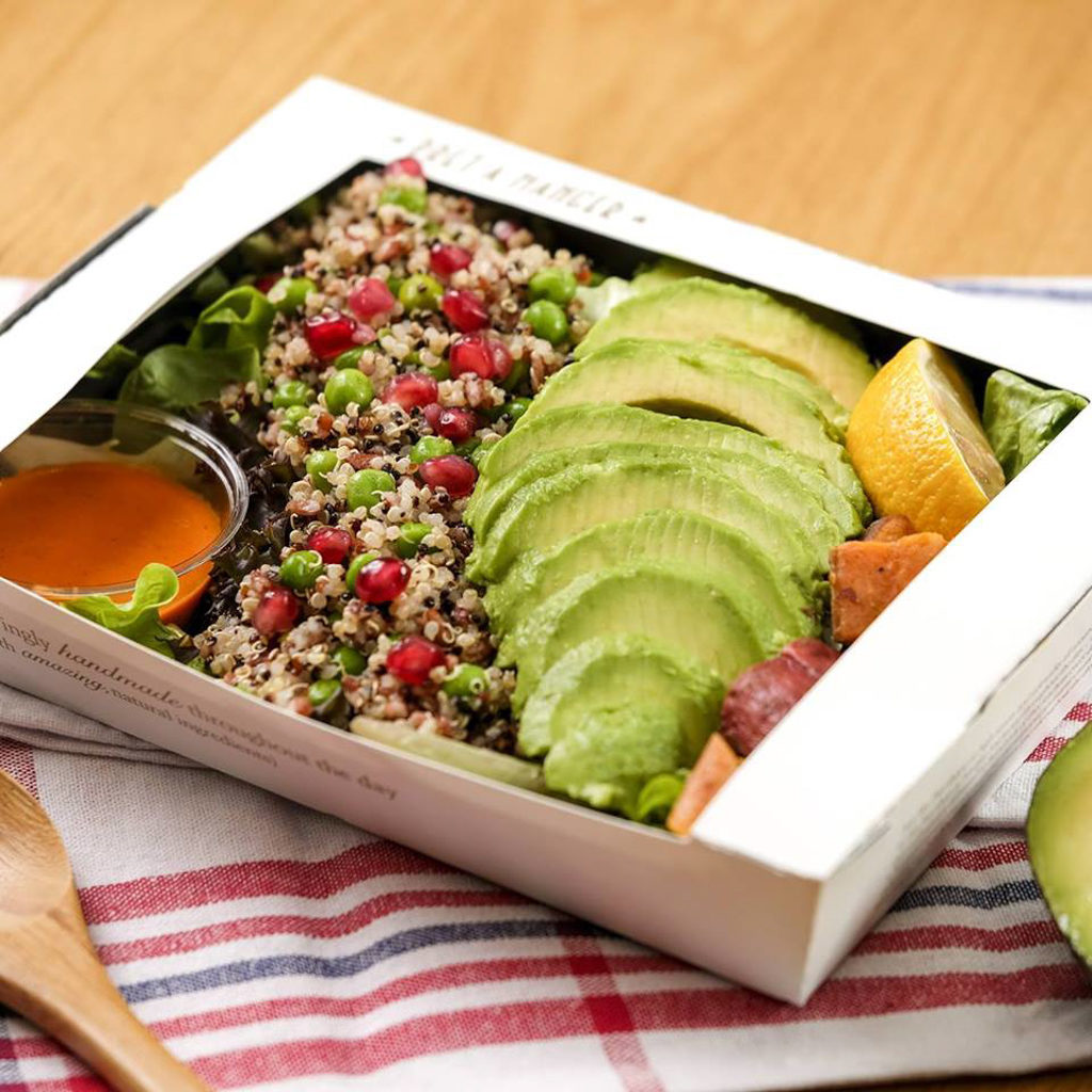 銅鑼灣利園:Go Green 企劃 超過 10 間食肆推出利園區分店獨家的 Green Monday優惠。
