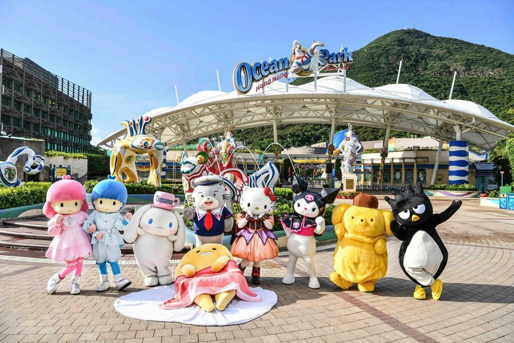 海洋公園哈囉喂全日祭2018 海洋公園今年首次聯同 Sanrio 家族舉行哈囉喂。