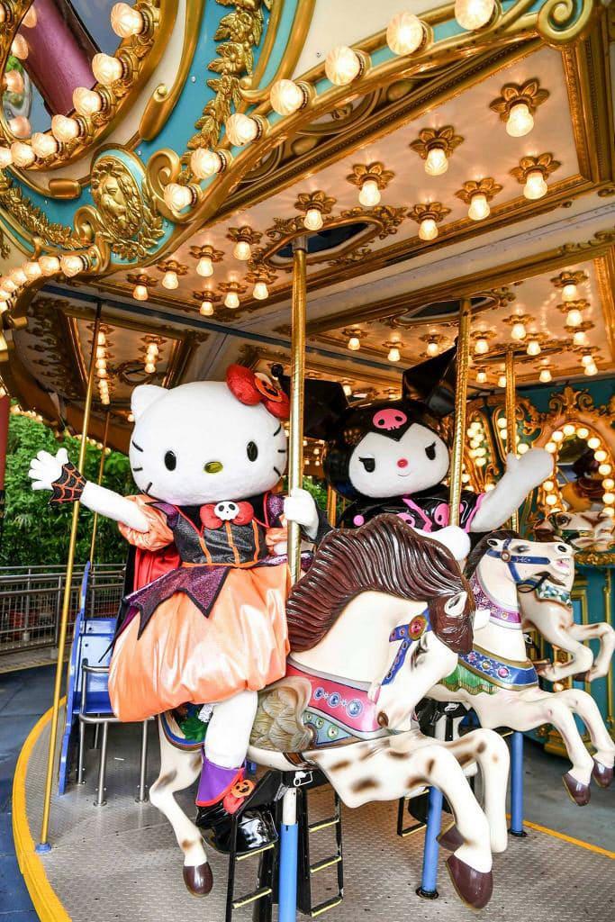 海洋公園哈囉喂全日祭2018 Hello Kitty及一班好友,將藏身於哈囉喂派對屋。