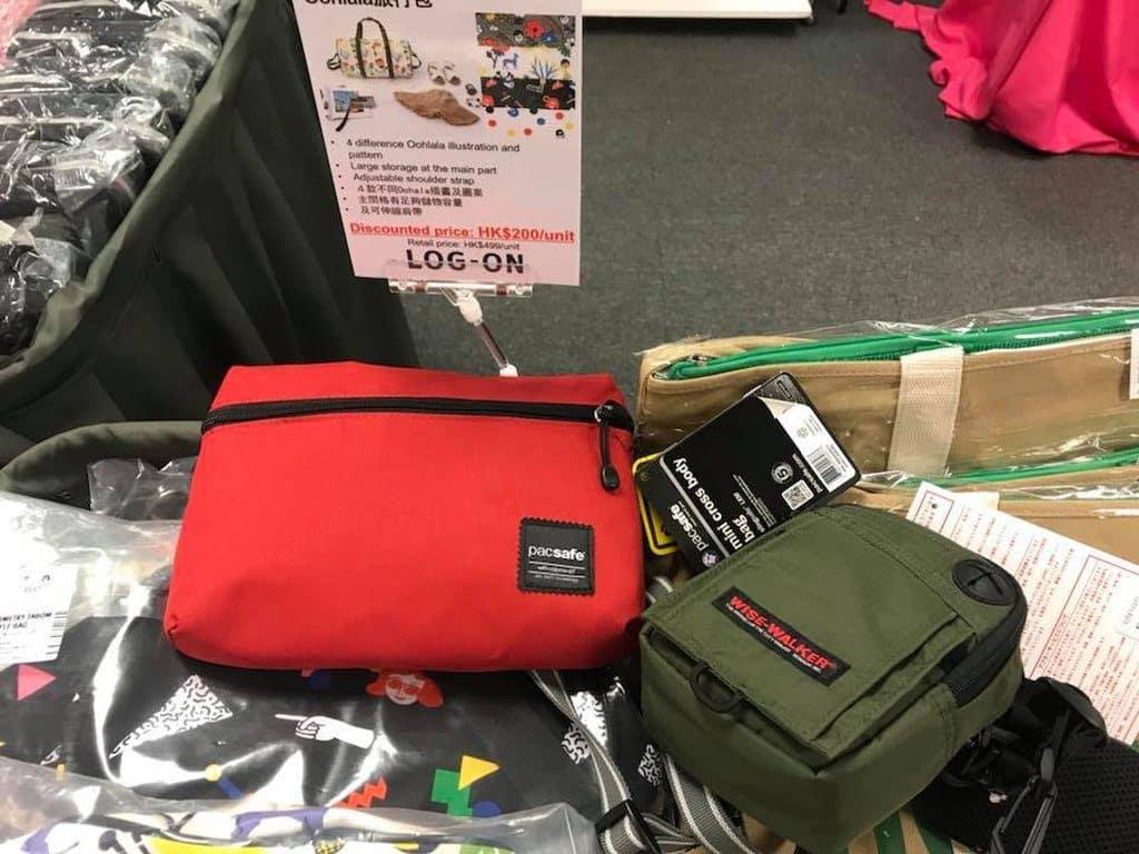 今次海港城展銷集會多款 LOG-ON 袋 發售。