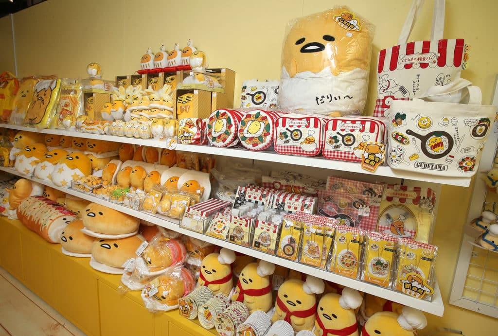 朗豪坊:梳乎蛋美食節 朗豪坊 7 樓設有梳乎蛋限定店,供粉絲購買紀念品。