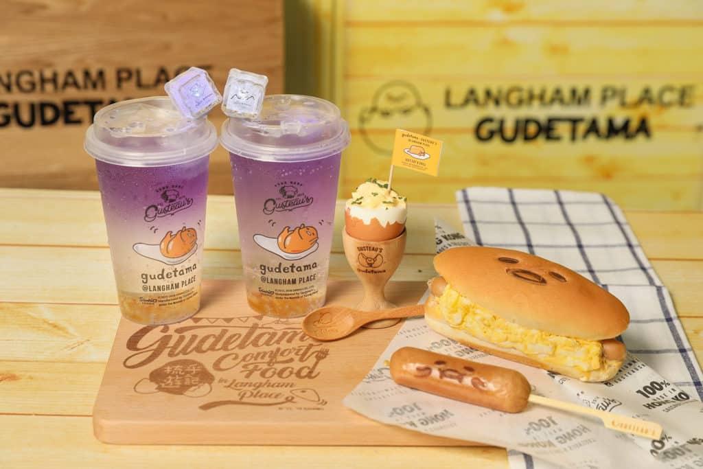 朗豪坊:梳乎蛋美食節 GUSTEAU'S HONG KONG:梳乎夏日涼浸浸(香橙口味) $58、梳乎蛋沙律連木製蛋杯及小木羹 $98、梳乎蛋沙律熱狗 $58