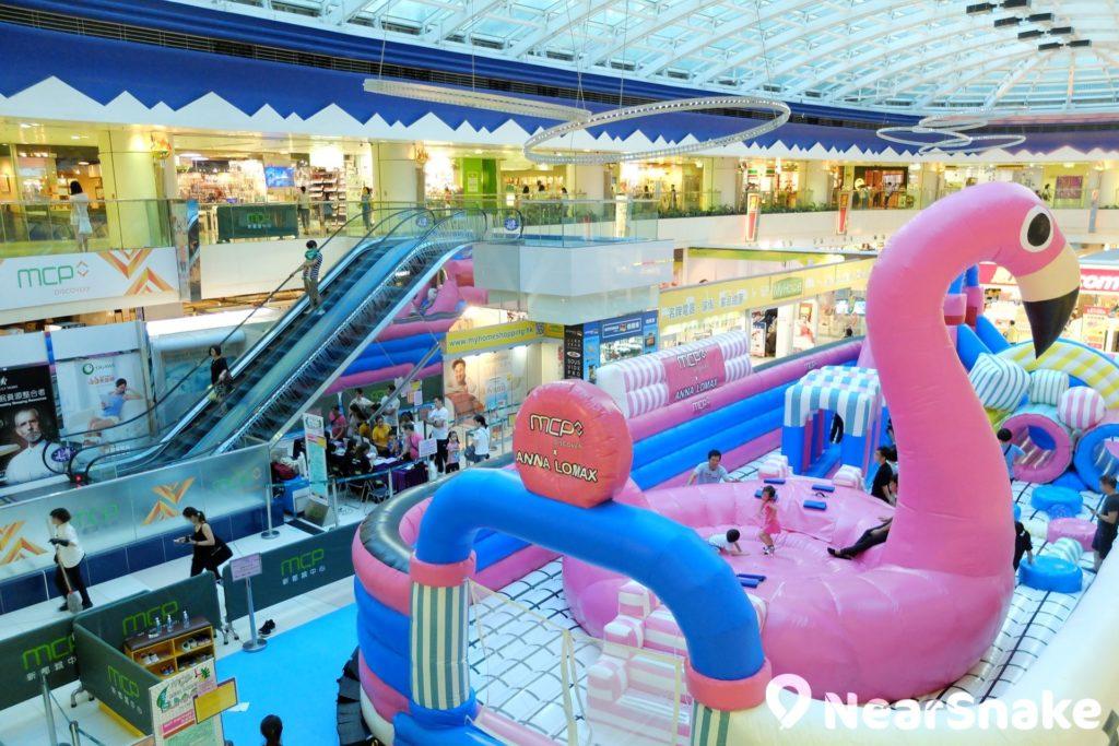新都城三期 MCP Discovery 擁有寬敞商場中庭,可用作舉辦大型商場主題活動。