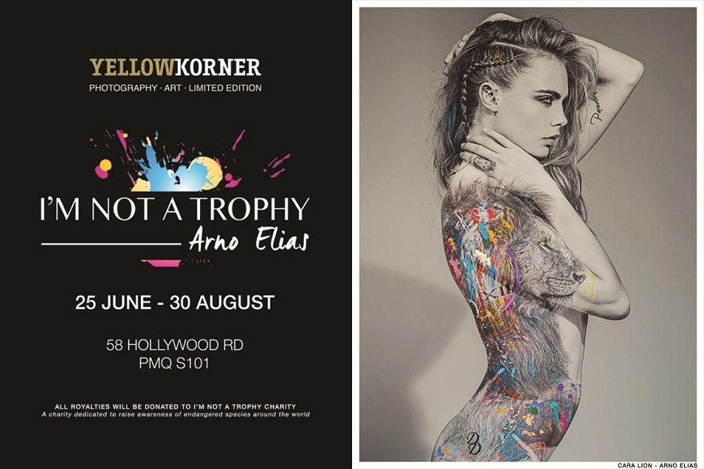 I'M NOT A TROPHY 展覽由即起在中環PMQ 元創坊 S101, Staunton 舉行。