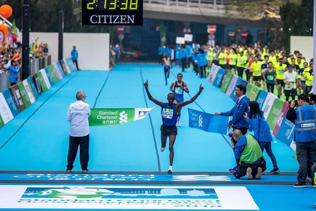 渣打香港馬拉松2019 渣打香港馬拉松賽事冠軍每年都是非洲跑手的囊中物。