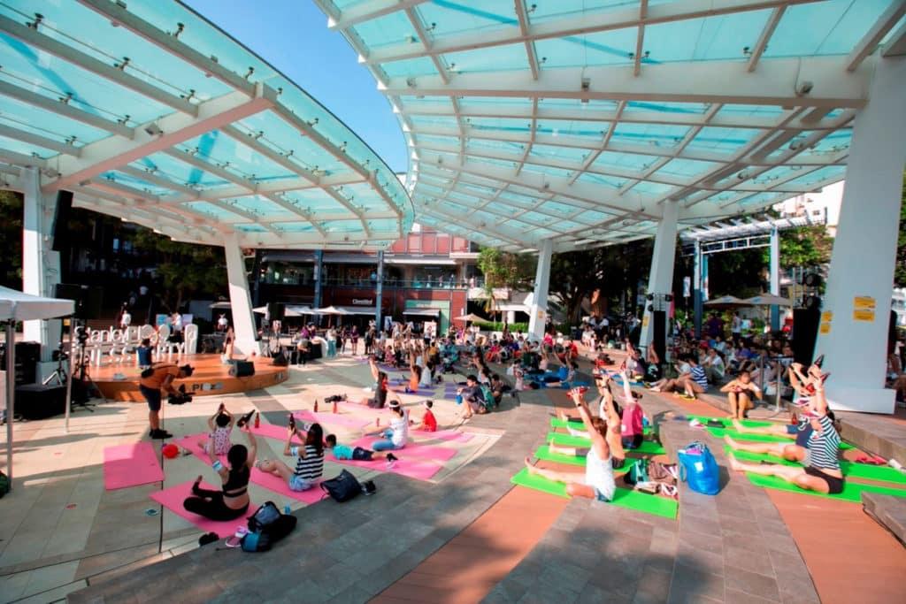 赤柱廣場:仲夏色彩派對 赤柱廣場帶來「仲夏色彩派對」,打造 8 大色調的玩樂專區。