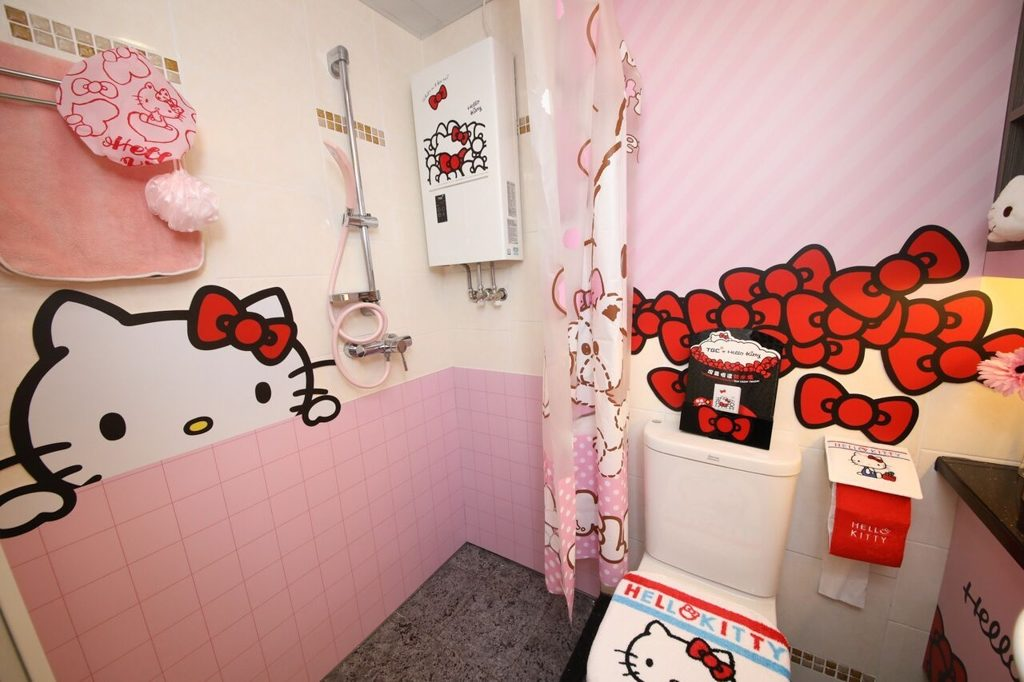 煤氣TGC「HELLO KITTY 萌の部屋」室內每處都找到 HELLO KITTY 的蹤影。