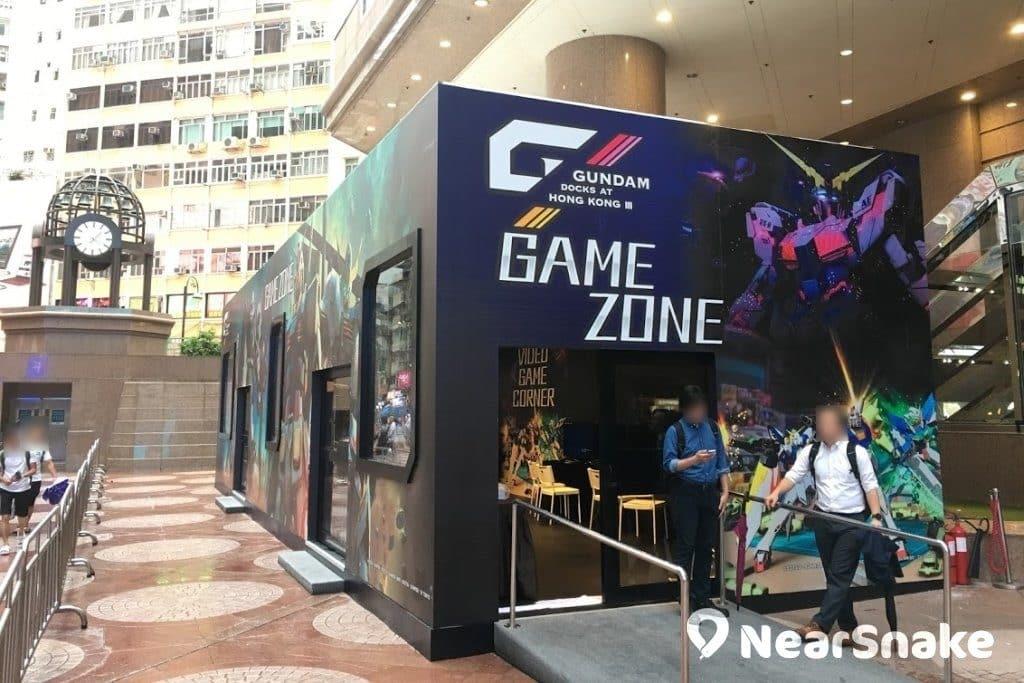 時代廣場高達基地展覽內設有機動戰士高達電玩專區,大家即場免費試玩各款高達電動遊戲。