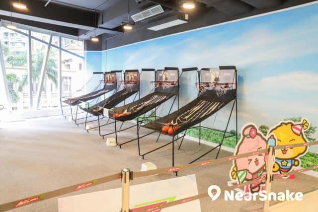 馬鞍山新商場We Go Mall 兒童版的籃球機