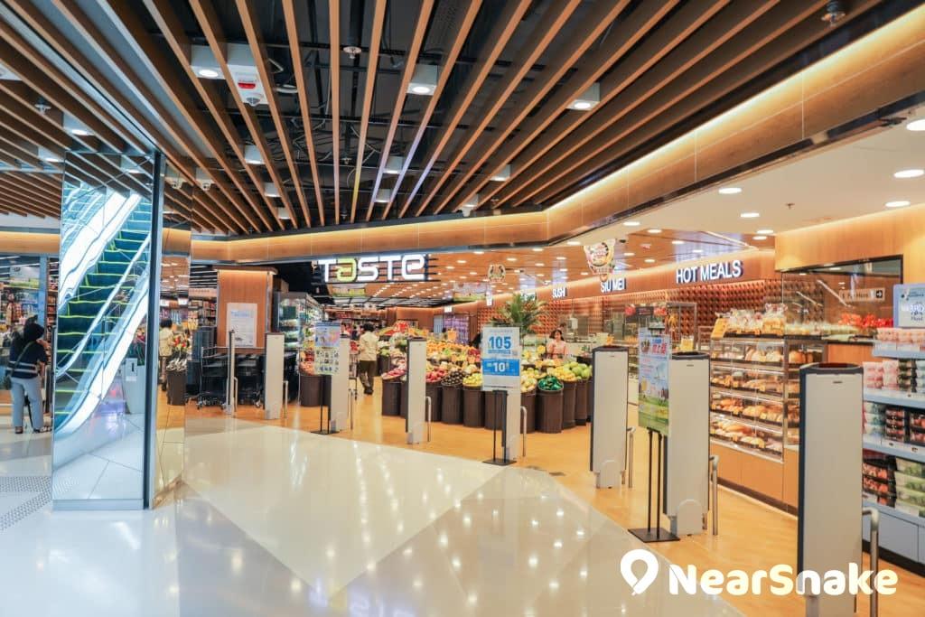 馬鞍山新商場We Go Mall 超級市場還是商場必備的店舖。