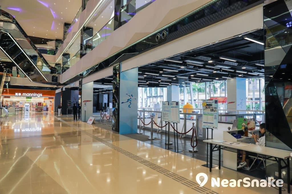 馬鞍山新商場We Go Mall 溜冰場位於商場地下,若非留神未必察覺得到它的存在。