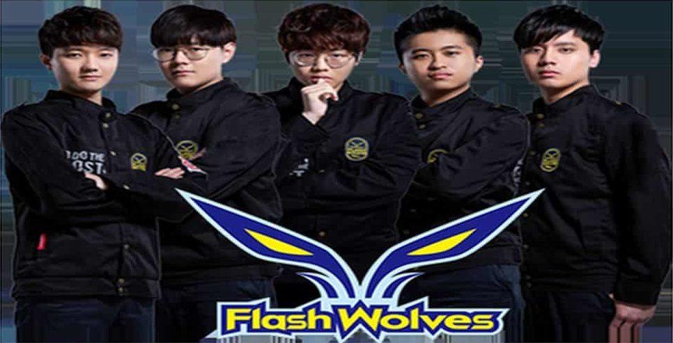 職業電競隊《Flash Wolves》閃電狼首次在港舉行見面會。
