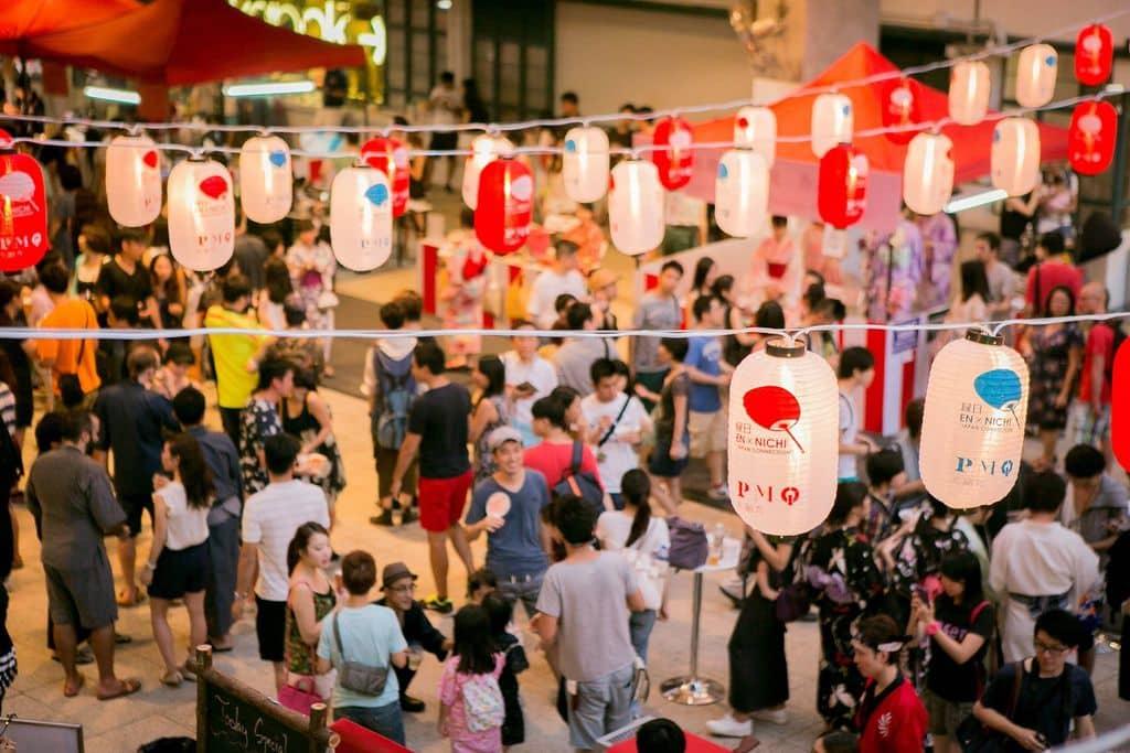 緣日沖繩可以感受日本祭典的熱鬧氣氛。