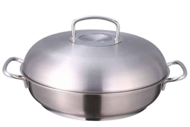 荃新天地:第 3 屆廚具家品展-Fissler Pro雅格32厘米帶蓋雙柄炒鍋,至抵精選$1,888 (原價$3,180)。