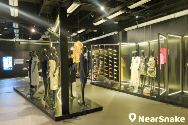 知專時裝資料館內展出不同世紀的代表性時裝、舞台服裝、女帽、鞋、袋及時尚飾品。