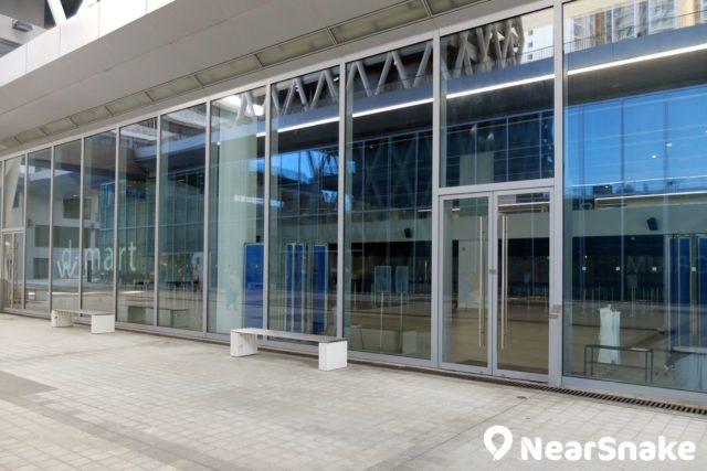d-mart 為知專內兩層高的展覽館,沒有展覽舉行時不會對外開放。