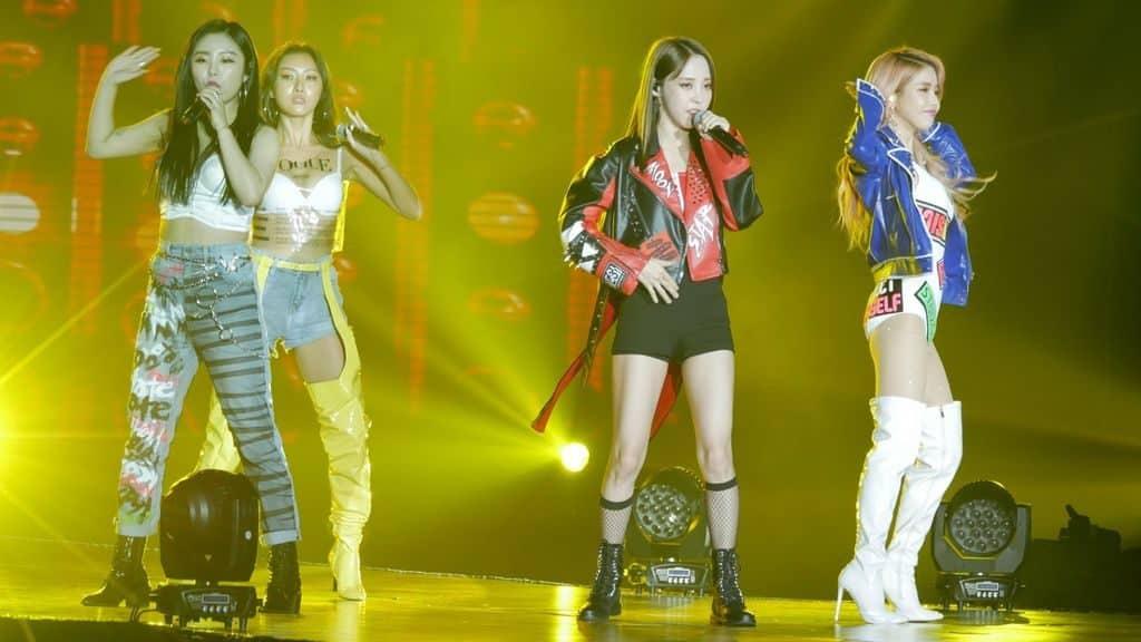 韓國最強人氣實力女團MAMAMOO擔任K-FOOD FAIR 2018表演嘉賓。