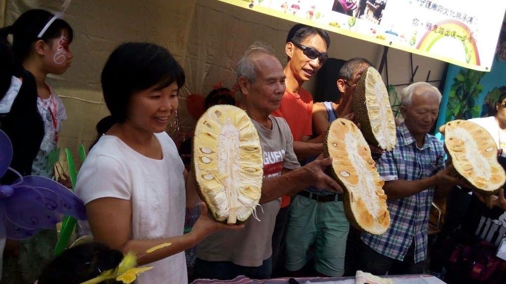 第十屆「大樹菠蘿文化節」,每年村民都會與社區共享。