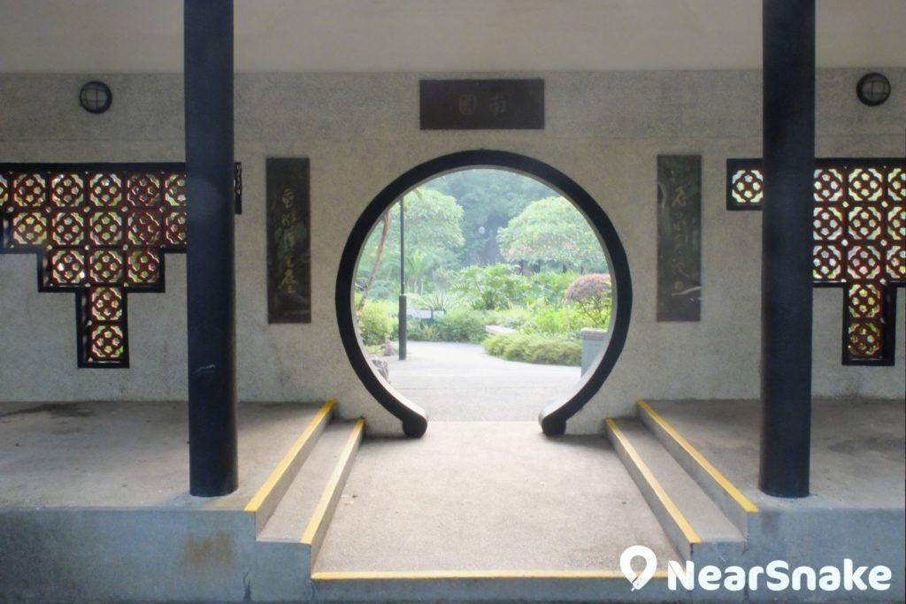沙田公園南園的正門。