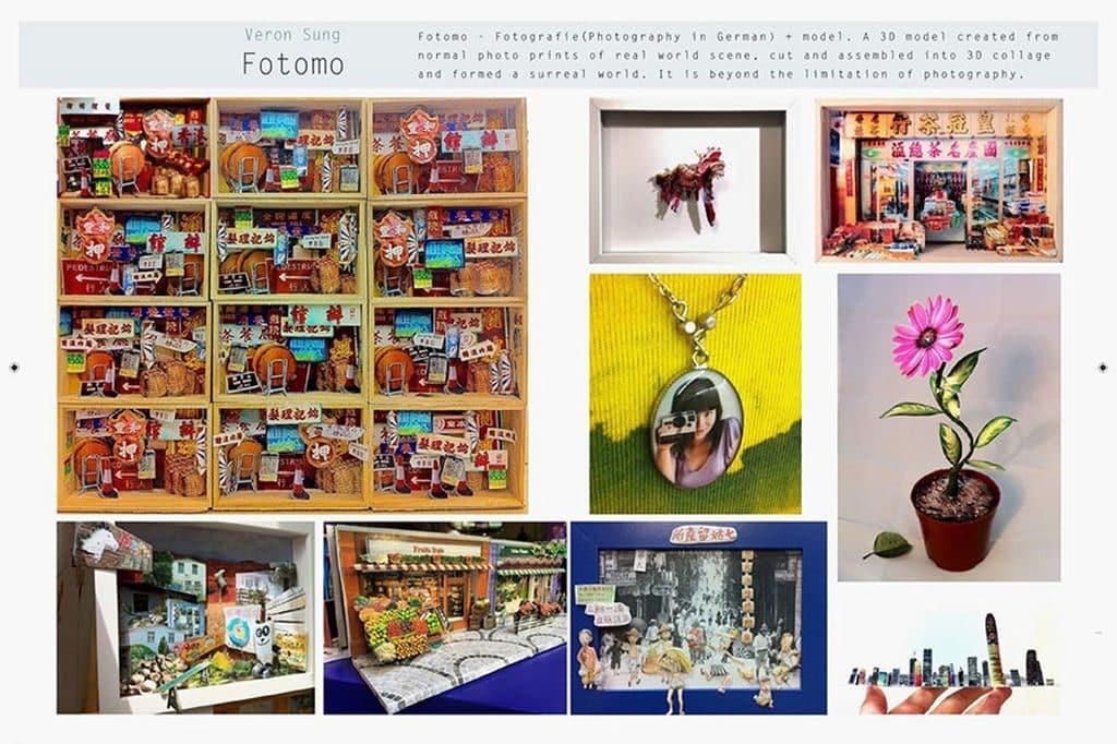 香港藝術中心 40 周年旗艦展覽-Fotomo立體相片模型工作坊——刻劃消逝的過去,讓回憶「立」現眼前。