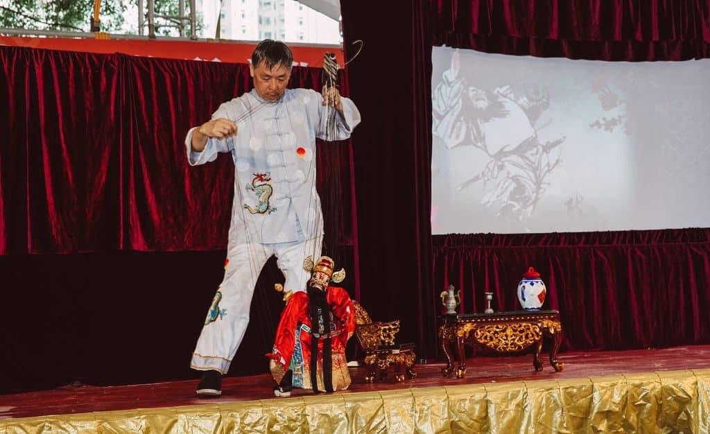 非物質文化遺產市集 2018 設立大型舞台作多項表演,與衆同樂。