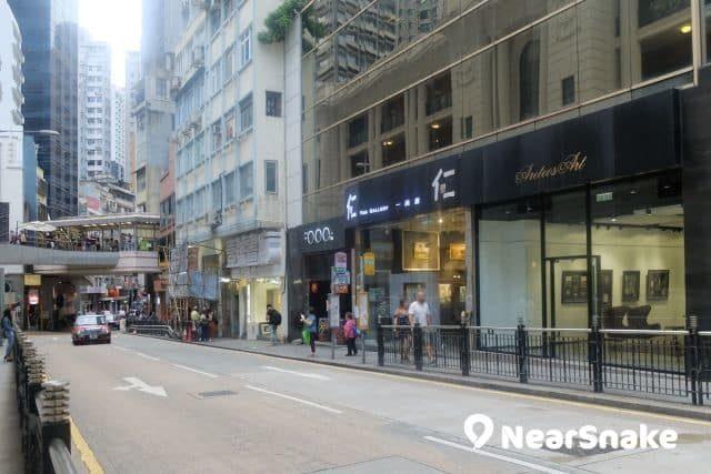 香港畫廊街