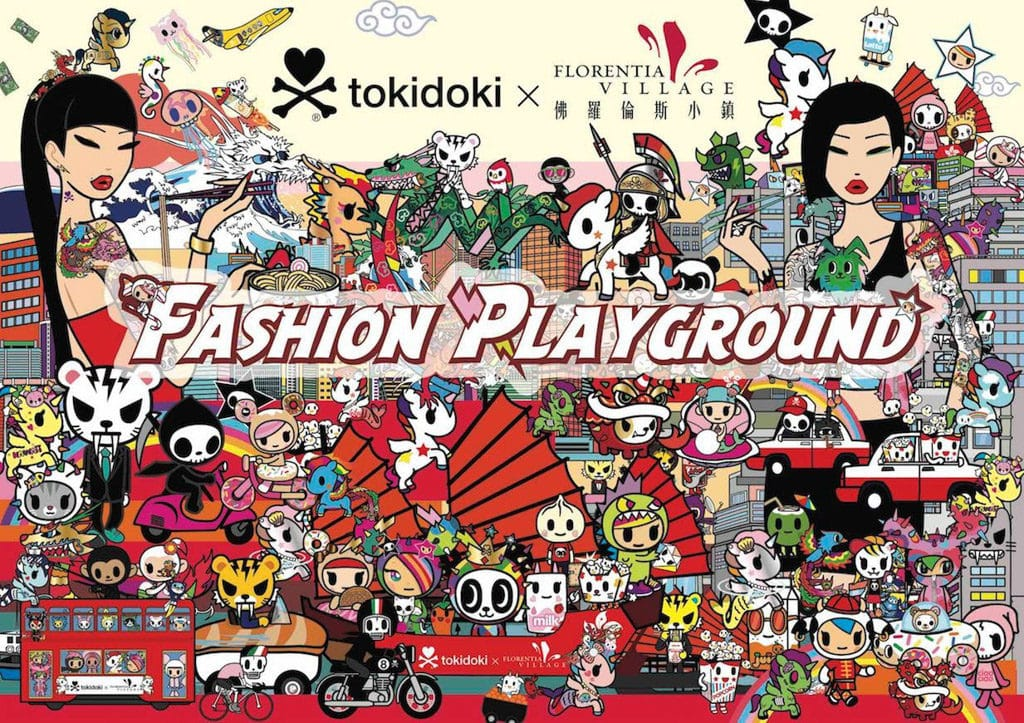 《Fashion Playground》tokidoki x 佛羅倫斯小鎮