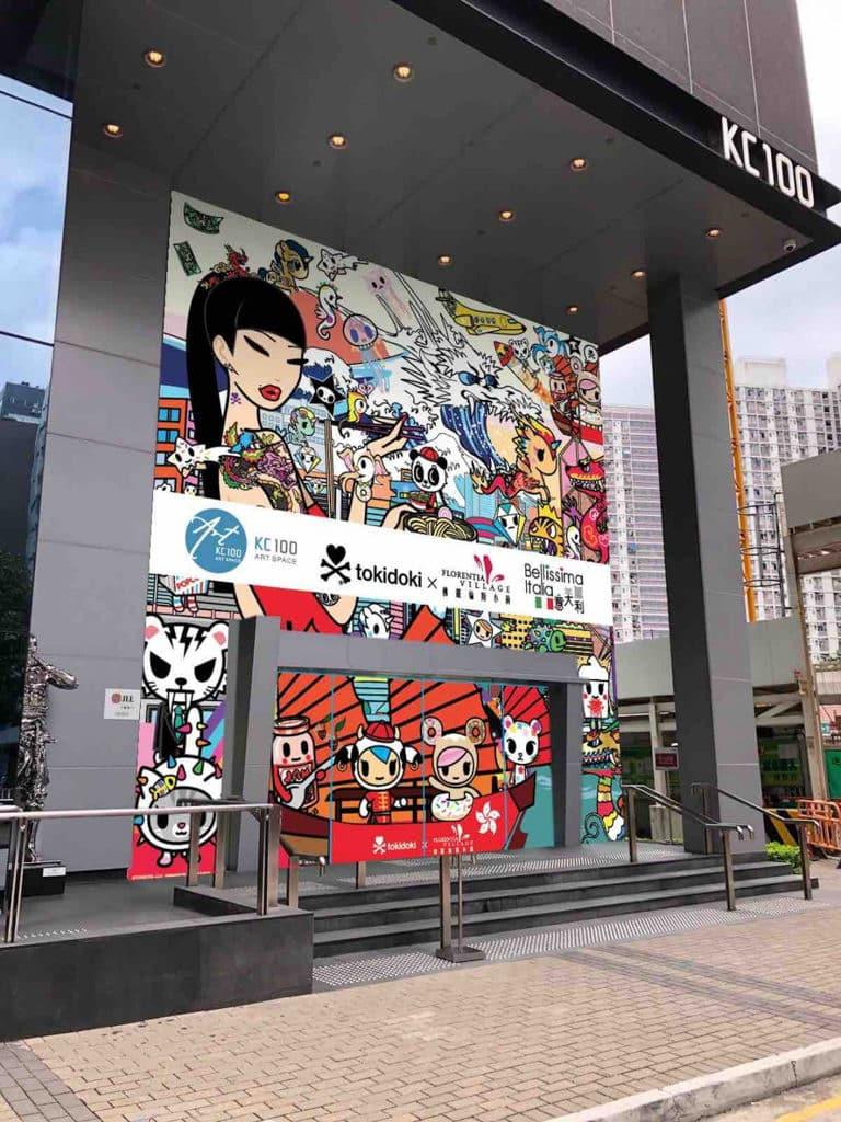 《Fashion Playground》tokidoki x 佛羅倫斯小鎮 佛羅倫斯小鎮聯乘 tokidoki,以「Fashion Playground」為主題打造巡迴展覽。