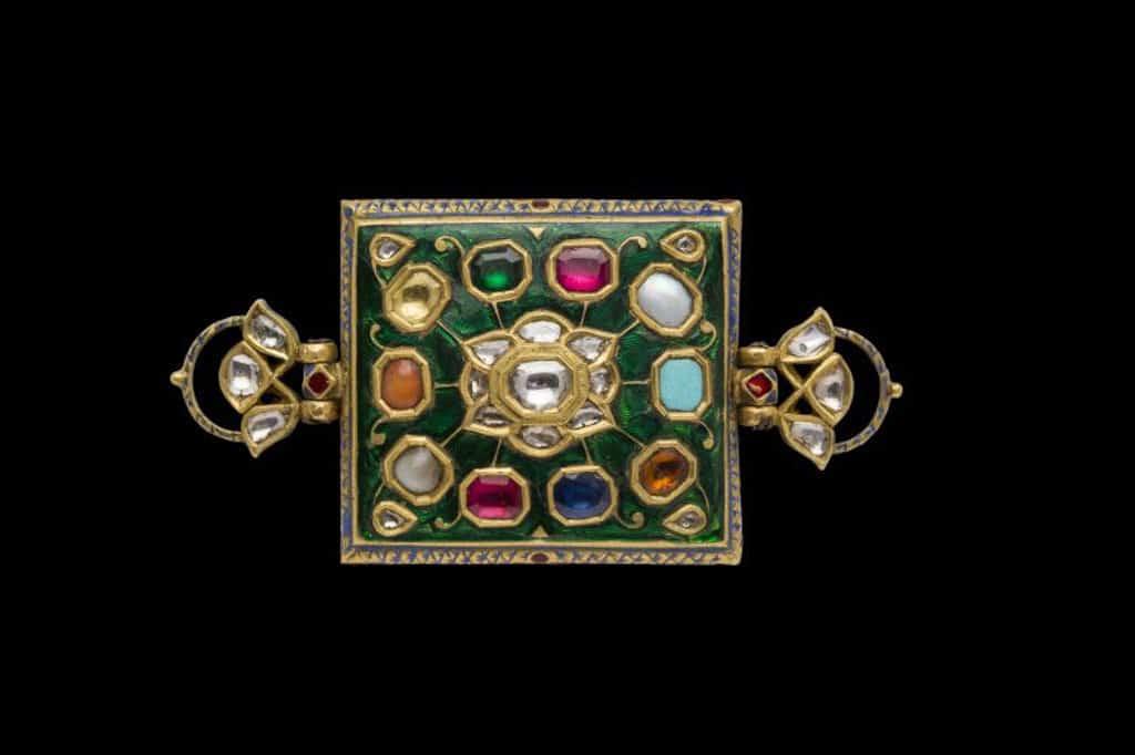 會展:典亞藝博 2018 珠寶手鐲, 北印度, 約19世紀, 高.3.6 x 寬.15.1公分, Susan Ollemans(倫敦)