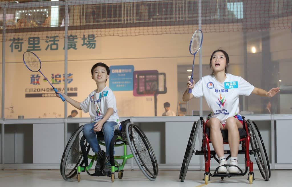 荷里活廣場:印尼2018亞洲殘疾人運動會–延續非凡 荷里活廣場將舉辦活動讓更多市民認識亞殘運。