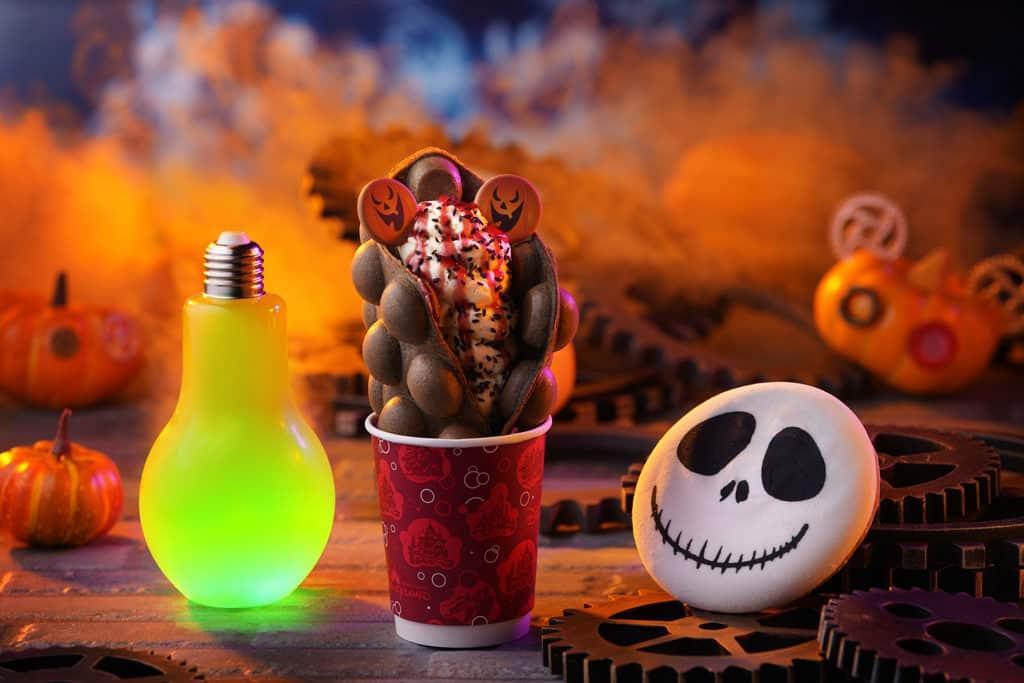 香港迪士尼萬聖節2018|《怪誕城之夜》阿Jack坐陣 迪士尼Halloween Time慶典 迪士尼將供應超過20款萬聖節搞鬼小食、甜點和飲品。