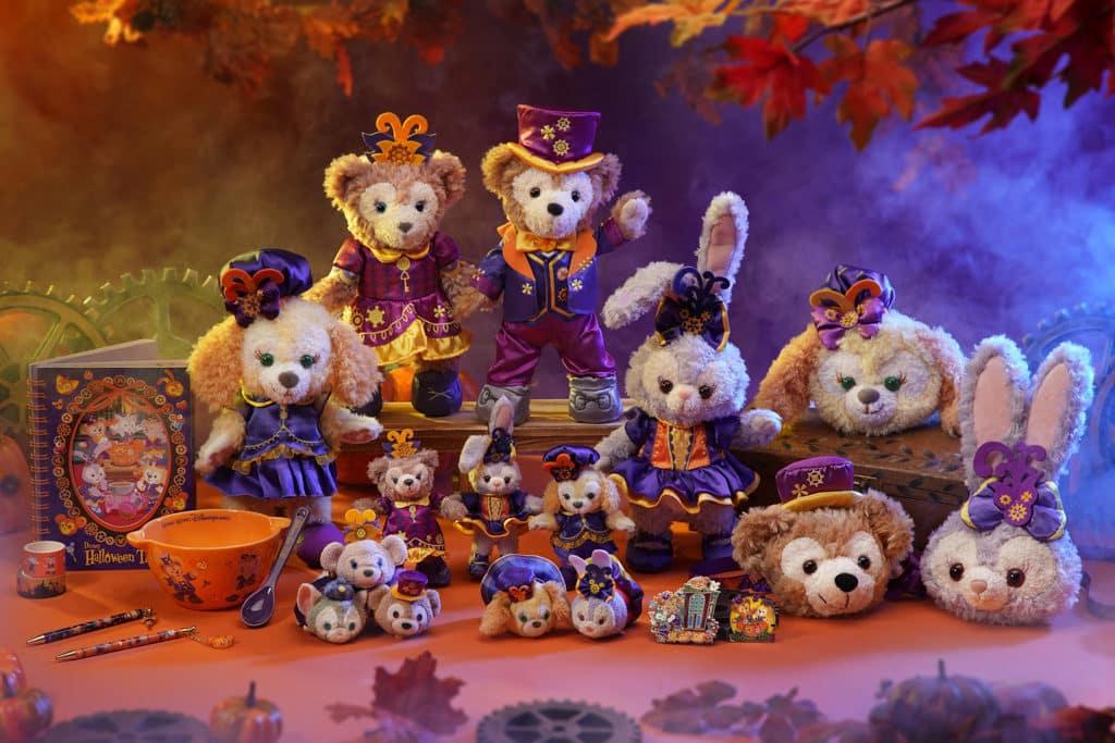 香港迪士尼萬聖節2018|《怪誕城之夜》阿Jack坐陣 迪士尼Halloween Time慶典 萬聖節限定Duffy與好友系列公仔