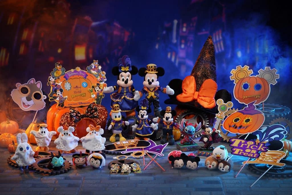 香港迪士尼萬聖節2018|《怪誕城之夜》阿Jack坐陣 迪士尼Halloween Time慶典 萬聖節主題系列公仔