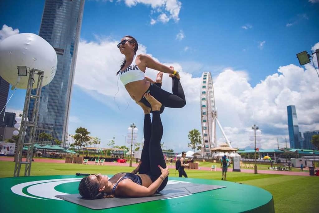 中環海濱:「IRIS:Your Escape」ManulifeMOVE 中環海濱活動空間將舉行超過 80 堂瑜珈及健身班。