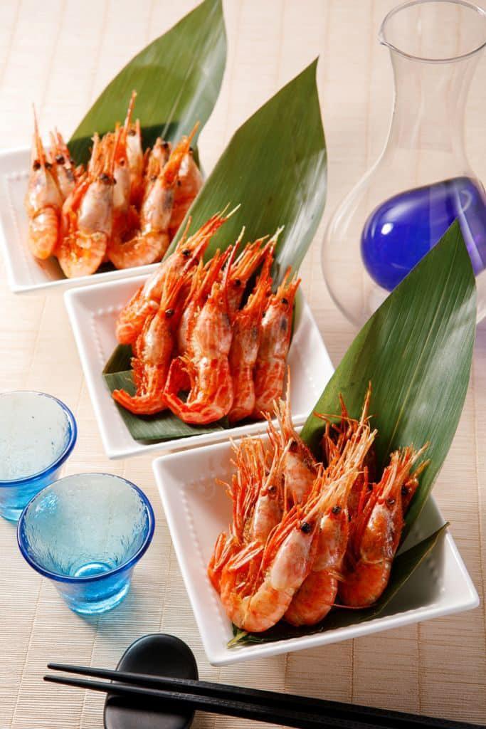 北海道×九號水產「秋祭2018」 縞蝦 + 南蠻蝦 + 牡丹蝦(價值$40)