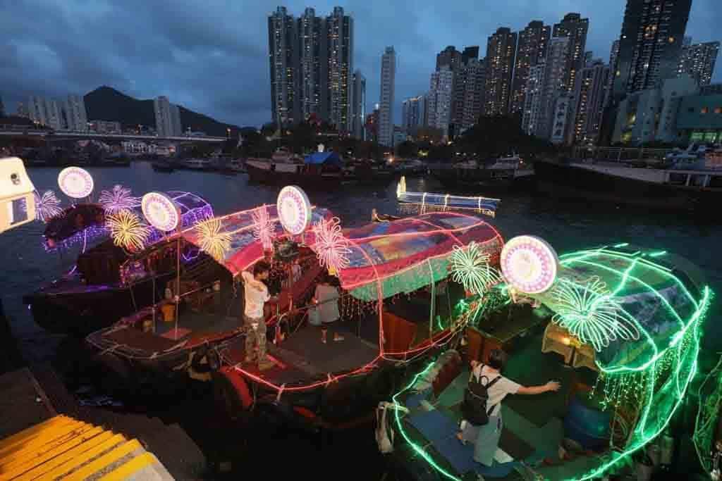 「彩艇.漁港情」南區國慶活動 懷舊舢舨將裝上LED燈裝飾。