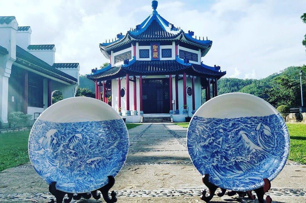 道風山:「在風中」林斷山明 廣彩瓷展 道風山將展出駐場藝術家林斷山明的彩瓷作品。