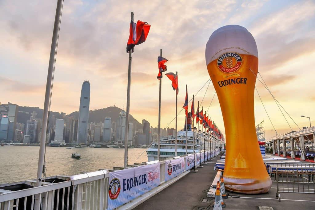海港城:馬哥孛羅德國啤酒節2018 今屆啤酒節同樣在馬哥孛羅酒店露天廣場舉行。