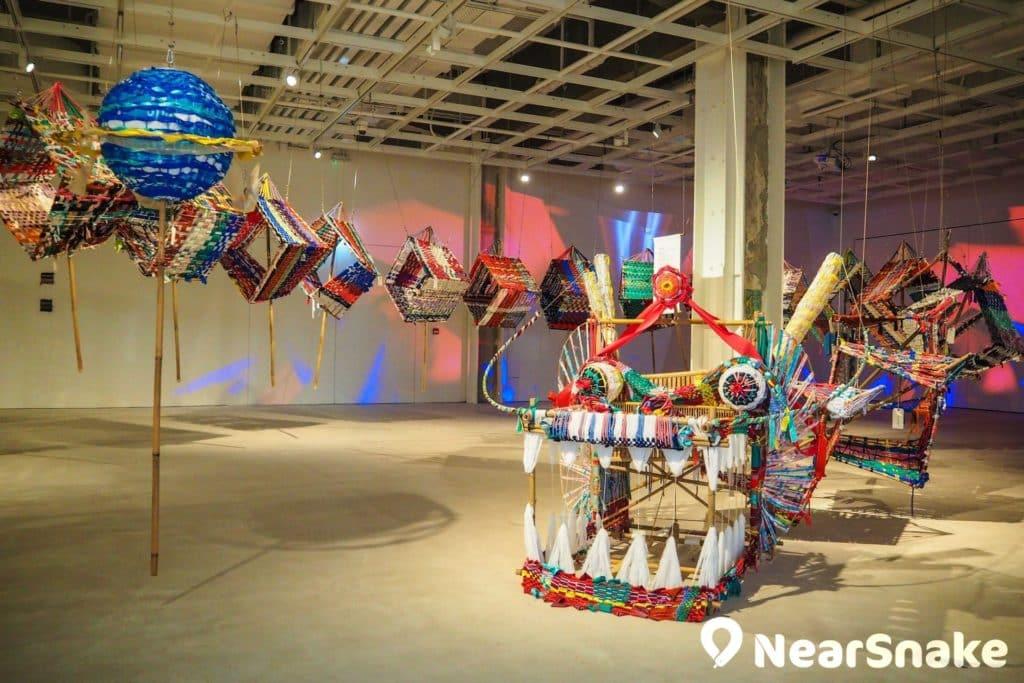 六廠紡織文化藝術館內的紡織龍全長約 35 米,以布料、竹、銅管製作,栩栩如生,難怪不少訪客都會打卡留影。