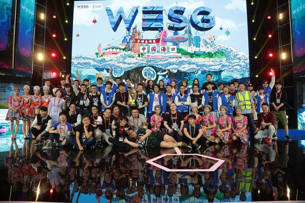 亞洲博覽館:香港電競節2018-WESG 2017 賽事有來自超過 190 個國家、超過 68,000 名選手參賽。