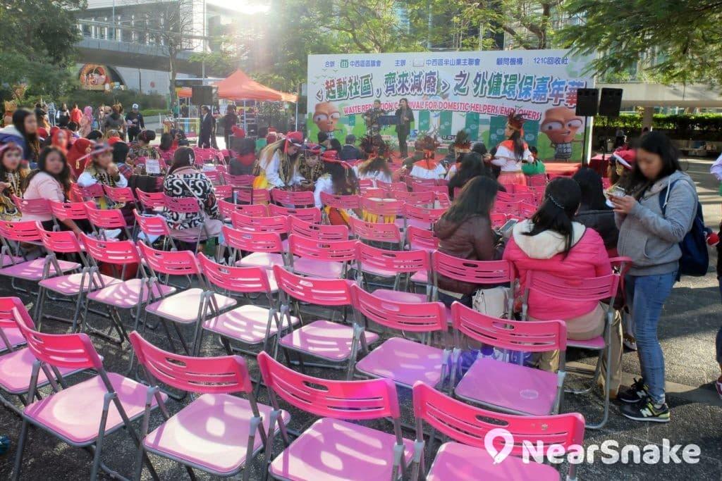 中環遮打花園經常舉行各式文娛康樂舉活動和集會。