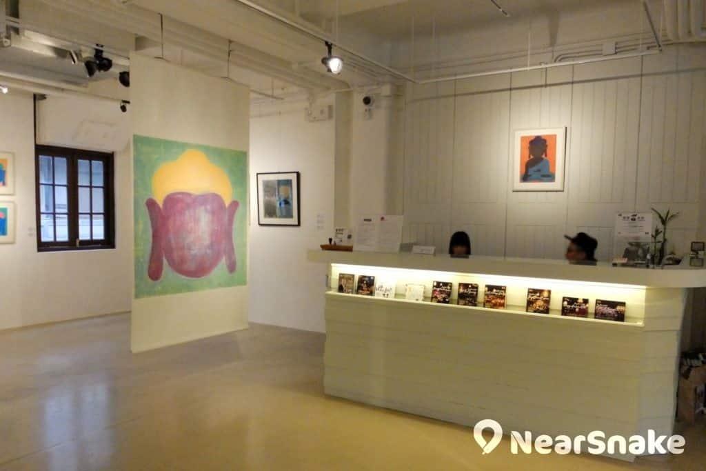 陳麗玲畫廊內設有接待處,樂意解答有關藝術活動的詳情。